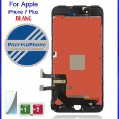 Ecran LCD + tactile + chasis - iPhone 7 Plus - Blanc