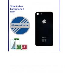 Vitre arrière - iPhone 8 - Noir