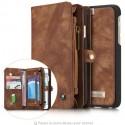 Portefeuille / Etuit iphone 6/6S Plus Simili-cuir Noir